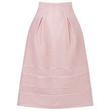 Buy Warehouse Linear Prom Skirt, Light Pink Online at johnlewis.com