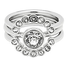 Buy Ted Baker Cadyna Concentric Crystal Ring Online at johnlewis.com