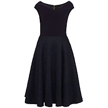 Buy Ted Baker Getris Bardot Textured Dress Online at johnlewis.com