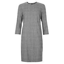 Buy Hobbs Aivy Dress, Grey Online at johnlewis.com