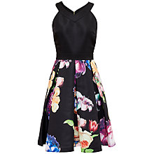 Buy Ted Baker Illusia Tapestry Dress, Black Online at johnlewis.com