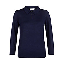 Buy Hobbs Agnes Sweater, French Navy Online at johnlewis.com