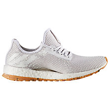 Buy Adidas Pureboost All-Terrain Women's Running Shoes, Crystal White/Pearl Grey Online at johnlewis.com