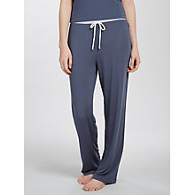 Buy DKNY Straight Leg Lounge Bottoms, Dark Grey Online at johnlewis.com