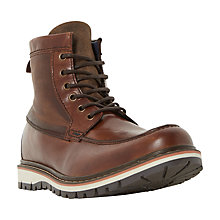 Buy Dune Conker Boots, Tan Online at johnlewis.com