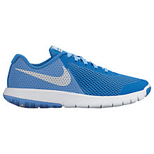 Buy Nike Flex Experience 5 GS Children's Running Shoes, Blue Online at johnlewis.com