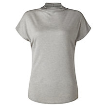 Buy Jigsaw Turtleneck Cap Sleeve T-Shirt Online at johnlewis.com