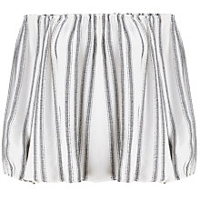 Buy Miss Selfridge Stripe Bardot, Multi Online at johnlewis.com