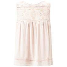 Buy Miss Selfridge Petites Daisy Top, Powder Blush Online at johnlewis.com