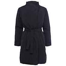 Buy French Connection Verbier Wrap Coat, Black Online at johnlewis.com