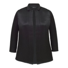 Buy Chesca Crush Pleat Jacket, Navy Online at johnlewis.com