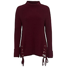 Buy French Connection Freedom Fringe Jumper, Zinfandel Online at johnlewis.com