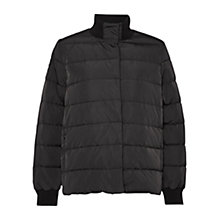 Buy French Connection Verbier High Neck Jacket, Black Online at johnlewis.com