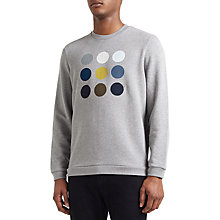 Buy Kin by John Lewis Logo Sweatshirt, Grey Marl Online at johnlewis.com