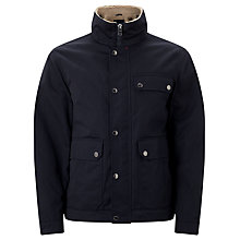 Buy John Lewis Hillside Borg Jacket, Navy Online at johnlewis.com