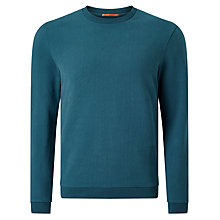 Buy Kin by John Lewis Brushed Cotton Plain Sweatshirt, Legion Blue Online at johnlewis.com