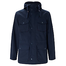 Buy John Lewis Storm Fisherman Jacket, Navy Online at johnlewis.com
