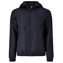 Buy Kin by John Lewis Showerproof Hooded Anorak, Navy Online at johnlewis.com