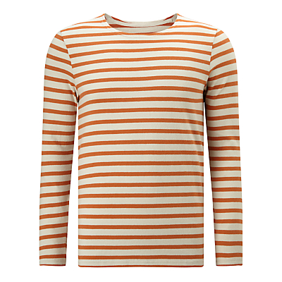 1950s Style Mens Shirts Kin by John Lewis Breton Stripe Long Sleeve T-Shirt £29.00 AT vintagedancer.com