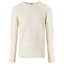 Buy Kin by John Lewis Slub Cotton Jumper, Ecru Online at johnlewis.com
