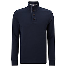 Buy John Lewis Weekend Button Neck Sweatshirt Online at johnlewis.com