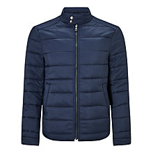 Buy John Lewis Padded Jacket, Navy Online at johnlewis.com