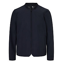 Buy Kin by John Lewis Cotton Blend Bomber Jacket, Navy Online at johnlewis.com