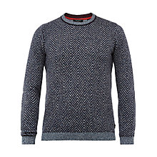 Buy Ted Baker Uncle Herringbone Jumper Online at johnlewis.com