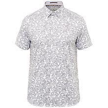 Buy Ted Baker Bordeux Short Sleeve Shirt Online at johnlewis.com