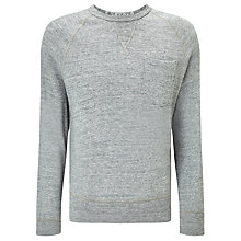 Buy Champion + Todd Snyder Crew Neck Sweatshirt, Grey Heather Online at johnlewis.com