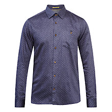 Buy Ted Baker Maiter Shirt, Blue Online at johnlewis.com
