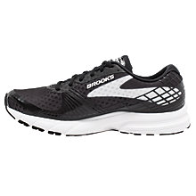 Buy Brooks Launch 3 Women's Running Shoes, Black/White Online at johnlewis.com