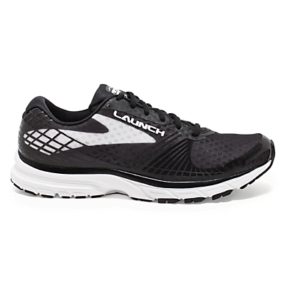 Brooks Launch 3 Women's Running Shoes, Black/White