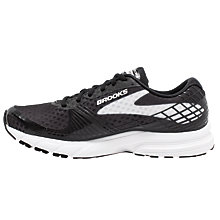 Buy Brooks Launch 3 Men's Running Shoes, Black/White Online at johnlewis.com
