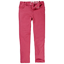 Buy Fat Face Girls' Stretch Jeggings, Red Online at johnlewis.com