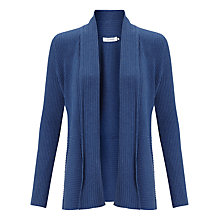 Buy John Lewis Skinny Rib Edge To Edge Cardigan Online at johnlewis.com