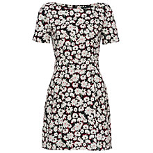 Buy French Connection Bloomsbury Daisy Dress, Brule/Multi Online at johnlewis.com