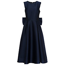 Buy French Connection Juliet Satin Dress, Nocturnal Online at johnlewis.com