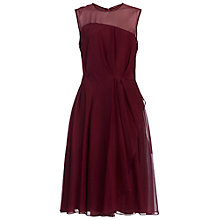 Buy French Connection Winter Ray Chiffon Dress Online at johnlewis.com