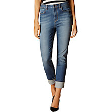 Buy Karen Millen Turn-Up Jeans, Denim Online at johnlewis.com