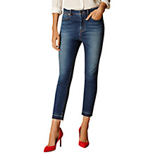 Buy Karen Millen Limited Edition Cropped Jeans, Denim Online at johnlewis.com