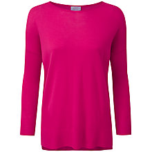 Buy Pure Collection Adrianna Featherweight Cashmere Jumper, Summer Pink Online at johnlewis.com