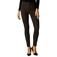 Buy Karen Millen Washed Jeans, Black Online at johnlewis.com