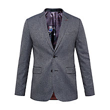 Buy Ted Baker Lincon Woven Suit Jacket, Blue Online at johnlewis.com