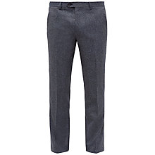 Buy Ted Baker Linctro Herringbone Suit Trousers, Blue Online at johnlewis.com