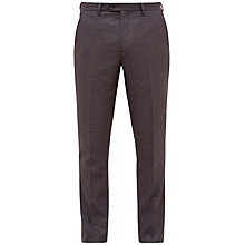 Buy Ted Baker Cabtro Mini Design Suit Trousers, Purple Online at johnlewis.com