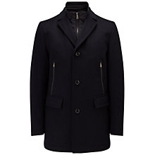 Buy BOSS Green C-Coant Coat, Dark Blue Online at johnlewis.com