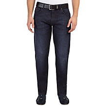 Buy BOSS Green C-Maine Jeans, Navy Online at johnlewis.com