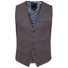 Buy Ted Baker Cabwai Mini Design Waistcoat, Purple Online at johnlewis.com