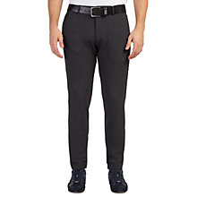 Buy BOSS Green Kait Tapered Fit Chinos, Black Online at johnlewis.com